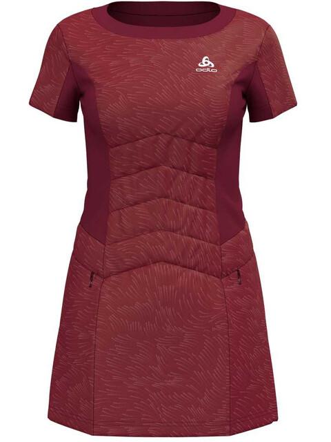 Odlo Irbis X-Warm - T-shirt course à pied Femme - rouge